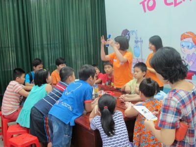 Kích thích và phát triển tư duy sáng tạo cho trẻ