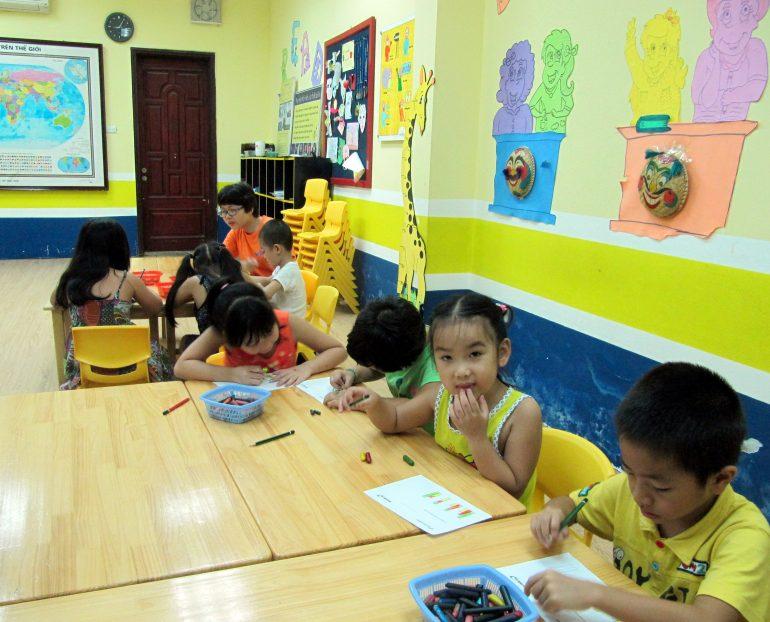 Phát triển khả năng tư duy hình tượng cho trẻ qua hội họa