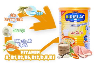 Giá bộ ăn dặm Ridielac có thật sự tương xứng với chất lượng sản phẩm